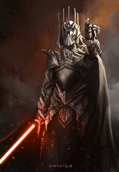 Tagged with star wars, badass, darth vader, artwork, yoda is the daughter of kylo; Star Wars Fan Art, Star Wars Concept Art, Star Wars Sith, Rpg Star Wars, Clone Wars, Star Trek, Images Star Wars, Star Wars Characters Pictures, Story Characters