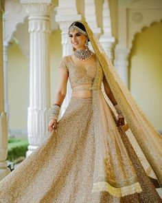 40+ Brides Twirling in Colourful Lehengas look as Flawless as Ice Cream Swirls! | ShaadiSaga