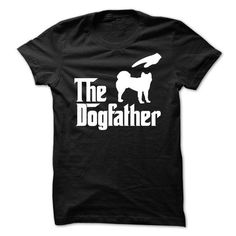 The DogFather Akita T Shirts, Hoodies. Check Price ==► https://www.sunfrog.com/Pets/The-DogFather-Akita-77154873-Guys.html?41382