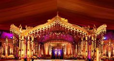 south indian wedding decorations - Google Search