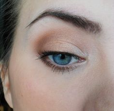 brown/ silja beate for a more natural look that looks great with blue eyes!