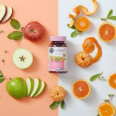 NEW mykind Organics Gummies are 100 percent vegan and made only from real-food ingredients like organic orange peels and apples. Garden Of Life Vitamins, Paleo Dinner, Dessert For Dinner, Nutrition Information, Real Food Recipes, Dairy Free, Healthy Eating, Vegan, Apples