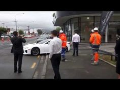 The arrival of a Lexus LFA at our official Lexus showroom here in Christchurch, New Zealand. The Lexus LFA is on a tour of the country as part of the Lexus S. Lexus Lfa, Supercar, Showroom, Digital, Fashion Showroom