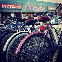 Here at Recycled Cycles we strive to make sure that everyone who wants to feel the joy of riding a bike, wants to stay in shape, or simply needs transportation has that opportunity.