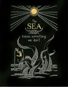 The sea knows something we don't. I figured since the sea is tied to Adrian, this might help with inspiration