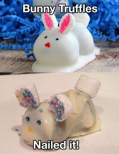 Bunny Truffles... Nailed it!