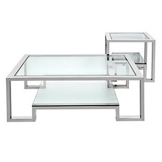$848.30 Z Gal. Retail   Chic Combo - Duplicity Coffee + Side | Occasional-combos | Chic-combos | Furniture | Z Gallerie