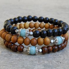Positivity and confidence genuine Amazonite guru bead by lovepray