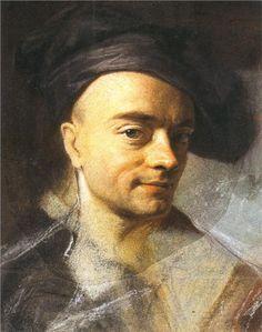 QUENTIN DE LA TOUR Maurice (1704-1788) - Self Portrait. Pastel. Musée Antoine Lecuyer, Saint-Quentin, France