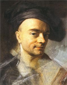 Self-Portrait without wig - Maurice Quentin de La Tour - WikiPaintings.org