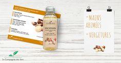 La peau aime la Macadamia et la Macadamia aime votre peau ! C'est prouvé ! #macadamia #HV #beauté #peau