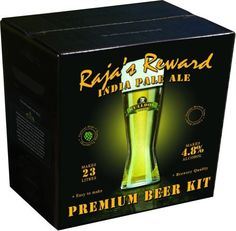 Bulldog Raja's Reward (ABV 4.8%) 40 pint IPA kit  A crisp, refreshing and hoppy beer – golden straw-coloured with notes of citrus and a hint of tropical fruits. Call 01606 359 137 for more information.
