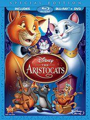 The Aristocats Blu-ray + DVD