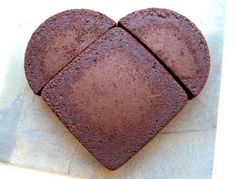 How to make a heart shaped cake without a heart pan!