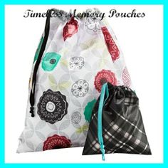 TOTES & PRODUCT IDEAS: TIMELESS MEMORY POUCHES
