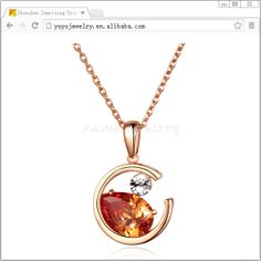 High end necklace