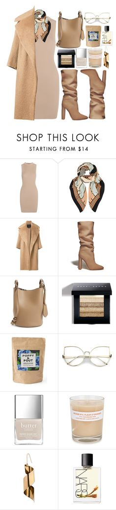 """"" by fashioneex ❤ liked on Polyvore featuring Tart, A Peace Treaty, MaxMara, Gianvito Rossi, Burberry, Bobbi Brown Cosmetics, Poppy & Pout, A.P.C., STELLA McCARTNEY and NARS Cosmetics"