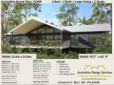 Kit Homes Nation-wide, supplier of steel kit homes. Delivering prefab and steel kit homes Australia wide from Queensland to Tasmania. Kit Homes Australia, House Plans Australia, Prefab Homes Australia, Modern House Plans, Small House Plans, House Floor Plans, Australian House Plans, Australian Homes, Oahu