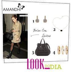 Look do Dia - Estilo Emma Watson | Amandhí | www.amandhi.com