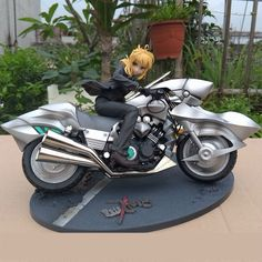 78.80$  Buy now - http://alici6.worldwells.pw/go.php?t=689514559 - figma saber figure doll motorcycle fate stay night Saber & Saber Motored Cuirassier free shipping 78.80$