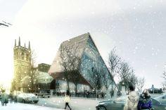 Gallery of Musée National des Beaux Arts du Québec proposal / BIG + Fugère Architectes - 4