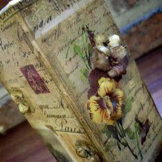 sospeso 3d Paper, Rice Paper, Mini Albums, Wedding Cards, Decorative Boxes, Create, Decoupage Ideas, Fabric, Flowers