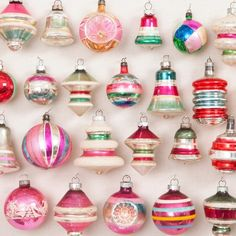 I have a few like this from 30 years ago....   :)    Hannah Milman combines her love of wreaths and her passion for vintage Christmas ornaments in one simple, stunning holiday project.
