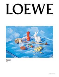 Loewe fall-winter 2017 ad campaign Gisele Bundchen by Steven Meisel
