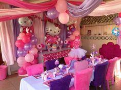 Hello Kitty Birthday Party Ideas Hello kitty birthday Pink