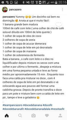 Doce de banana e café com leite