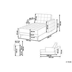 Esszimmerstuhl grau Samtstoff 2er Set RUBIO