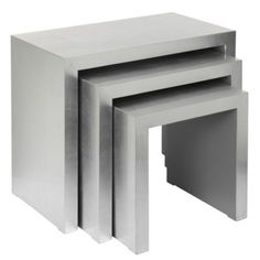 Astair Nesting Tables - Silver from Z Gallerie