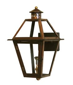 """Jackson Square 15""""x8""""  Gas or Electric Light"""