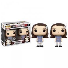 Pack 2 Figurines POP The Shining The Grady Twins (Exclusive)