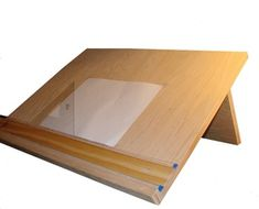 How To Build A Drafting Table (plans).