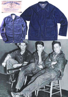 Mens Collections: The Simple Vintage Chore Jacket