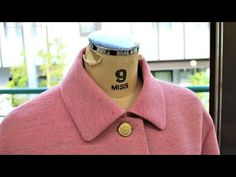 How to sew a Bal Collar of a Jacket (Blazer) - YouTube