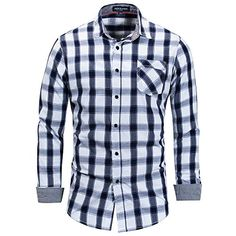 f9ceb8d259c8b Mens Long Sleeve Casual Button Down Shirts
