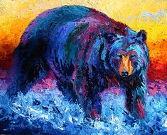 Scouting For Fish - Black Bear