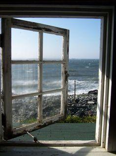 """oceanflower2015: """" A window to my soul… ❤ """""""