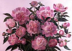 Кирьянова Виктория. Розовые пионы