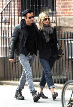 Hollywood Couples | Justin Theroux and Jennifer Aniston