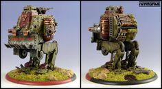 Khador Battle Engine Gun Carriage Walker