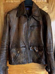 PURPLE LABEL RALPH LAUREN  3,200 Men s Leather Jacket S   eBay Woman  Dresses, Women s Fashion e3d4ec01c1