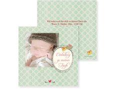 Taufpost Buchzeichen 2-seitig 70x210mm grün Frame, Baby, Home Decor, Renting, Cordial, Birth, Cards, Picture Frame, Decoration Home