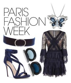"""""""Paris Fashion"""" by twilightsiren ❤ liked on Polyvore featuring self-portrait, Imagine by Vince Camuto, DANNIJO, parisfashionweek and Packandgo"""