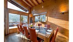 Ski Lodge Aurore A Spectacular Chalet-Inspired Modern Villa French village Meribel  (8)