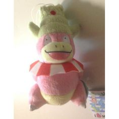 Pokemon 2013 Banpresto UFO Game Catcher Prize I Love Marine Series #2 Slowking Plush Toy