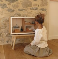 Play time - Dollhouses - maison de poupée ecodesign en bois naturel