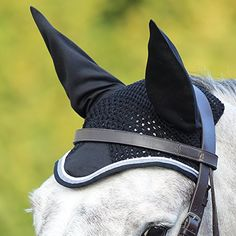 £14.50 DELUXE FLY VEIL Striking Fits Under Bridle Smart Colours Breathable Strap Free [BLACK/GREY] [COB/FULL] Shires http://www.amazon.co.uk/dp/B00VVAOOYG/ref=cm_sw_r_pi_dp_OZ3dxb1P3FQH1